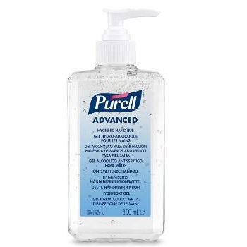 Hånddesinfektion gel PURELL Advanced Gel 70% 300 ml.